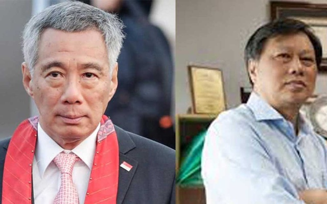 Singapore court orders blogger to pay PM Lee $99,000 in a defamation case. Photo taken via blogger Leong Sze Hian's Facebook page.