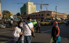 Pedestrians and traffic at the Grand Bazaar in Tehran, Iran, Oct 18, 2020. The New York Times