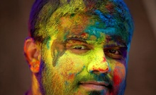 The colours of Holi herald the beginning of spring in India