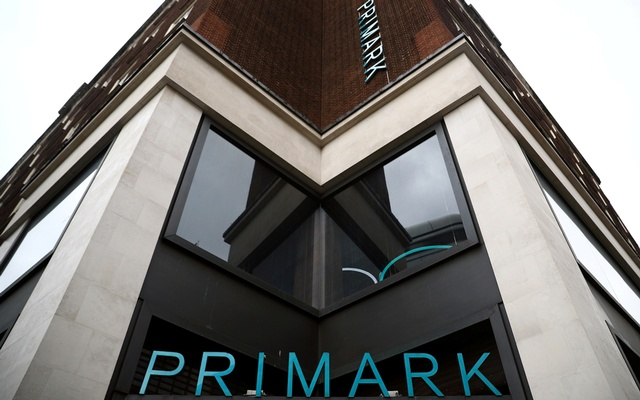 Signage is displayed outside a Primark store at the Oxford Street, in London, Britain July 2, 2020. REUTERS