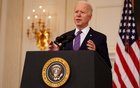 President Joe Biden speaks at the White House in Washington, on Friday, April 2, 2021. The New York Times