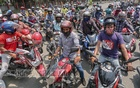 Bikers block Dhaka roads over ridesharing ban