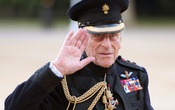 Britain's Prince Philip arrives on the eve of his 90th birthday to take the salute of the Household Division Beating Retreat on Horse Guards Parade in London Jun 9, 2011. REUTERS