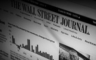 The home page of the Wall Street Journal is displayed on a monitor in New York on April 8, 2021. As of December 2020, The Journal had 2.46 million digital-only subscriptions; it aims to double that number by June 2024. (Devin Oktar Yalkin/The New York Times)