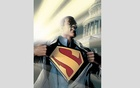 A photo provided by DC Comics shows a comic book panel featuring Calvin Ellis, who on an alternate version of Earth is both Superman and president of the US. The New York Times