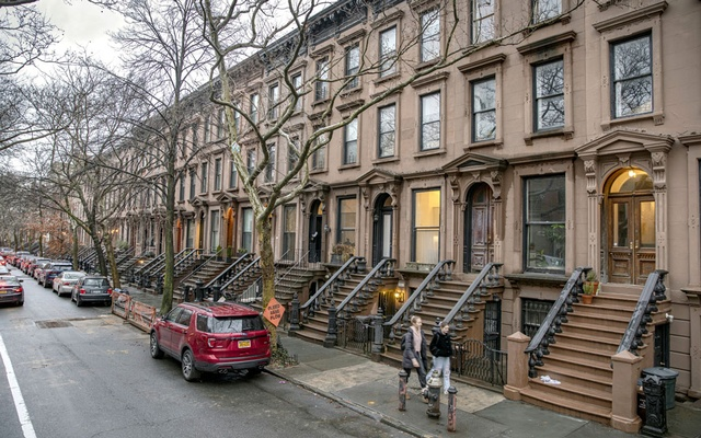 Brownstones on Cobble Hill in Brooklyn, Feb 11, 2020. The New York Times