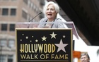 Actress Olympia Dukakis speaks at the ceremony for the unveiling of her star on the Walk of Fame in Los Angeles, California May 24, 2013. REUTERS