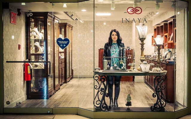 Inessa Zelikson at her store in New York's Grand Central Terminal, April 20, 2021.The New York Times