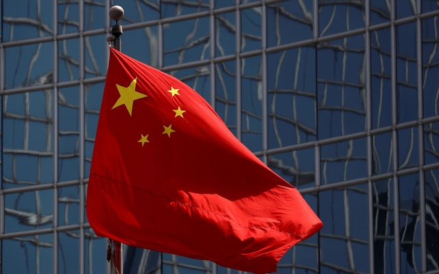 The Chinese national flag is seen in Beijing, China April 29, 2020. REUTERS