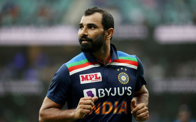 Cricket - Second One Day International - Australia v India - Sydney Cricket Ground, Sydney, Australia - November 29, 2020 India's Mohammed Shami reacts. REUTERS