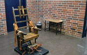 A photo provided by the South Carolina Department of Corrections shows the state's electric chair in Columbia, SC, in March 2019. Frustrated by the lack of drugs available to carry out lethal injections in their state, South Carolina lawmakers are on the cusp of a controversial solution: forcing death row inmates to face the electric chair or firing squad when lethal injection is not possible. (South Carolina Department of Corrections via The New York Times)