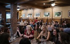 Patrons dine at a restaurant in Columbia, Mo, May 7, 2021. Dr Anthony Fauci said on Sunday that he was open to relaxing indoor masking rules as more Americans get vaccinated against the virus, just two days after the Centres for Disease Control and Prevention belatedly emphasised the danger of airborne transmission. The New York Times