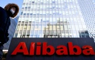 The logo of Alibaba Group is seen at its office in Beijing, China January 5, 2021. REUTERS