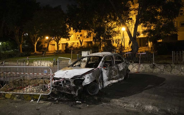 Damage in the city of Ashkelon, Israel, on Wednesday, May 12, 2021, resulting from a missile from Gaza. Misinformation has flourished on Twitter, TikTok, Facebook and other social media about the violence between Israelis and Palestinians. (Dan Balilty/The New York Times)