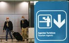 Travellers arrive at Porto Airport on the first day that tourists from Britain and most EU countries are allowed to enter Portugal without needing to quarantine, as coronavirus disease (COVID-19) restrictions continue to ease, Porto, Portugal, May 17, 2021. Reuters
