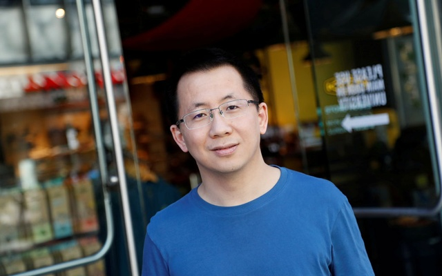 Zhang Yiming, founder and global CEO of ByteDance, poses in Palo Alto, California, US, Mar 4, 2020. REUTERS