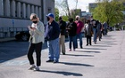 US weekly jobless claims decline further; mid-Atlantic factory activity cools