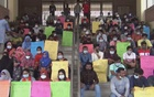 Students demonstrate for the reopening of universities. File Photo
