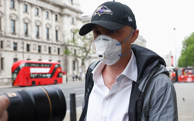 Dominic Cummings, former special advisor for Britain's Prime Minister Boris Johnson, arrives at the Portcullis House, in London, Britain, May 26, 2021. REUTERS