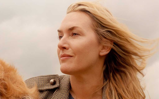 """The actress Kate Winslet in England, May 25, 2021. """"Not only did I have to hide myself in the character completely, but I had to hide this story, carry the secret,"""" said Winslet of her role in the HBO limited series """"Mare of Easttown."""" The New York Times"""