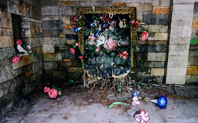 """""""Fresh Start,"""" by Valerie Hegarty, in """"Re:Growth, a Celebration of Art, Riverside Park and the New York Spirit"""