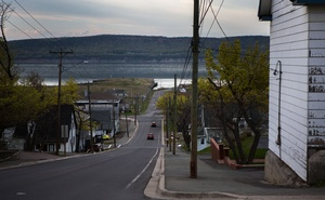 A view of Dalhousie Junction, a seaside town on Chaleur Bay in Canada's province of New Brunswick, May 20, 2021. Six years after they were first reported, patients with debilitating neurological symptoms have shaken the province of New Brunswick and still have doctors in Canada stumped. (Chris Donovan/The New York Times)