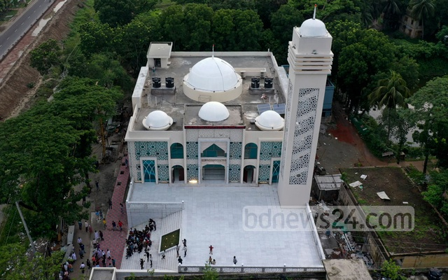 The model mosques and cultural centres at the district level will be four-floor tall, those at the upazila level will have three storeys and those in coastal areas will have four storeys. The ground floor of the coastal buildings will serve as shelters in case of natural disaster.