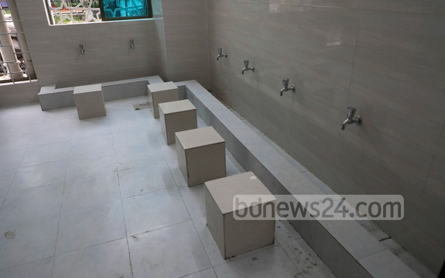 The model mosques and Islamic centres will have separate areas for men and women to perform Wudu.
