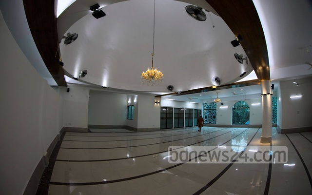 Separate areas will be available at the mosques for men and women. It will allow women to pray at mosques in all upazilas across the country for the first time.
