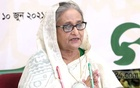 Prime Minister Sheikh Hasina inaugurates 50 model mosques and Islamic cultural centres at districts and Upazilas across the country via video conference on Thursday, June 10, 2021. Photo: PMO