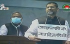 AL MP wears placard in parliament to demand embankments in coastal areas