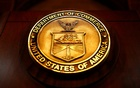 The seal of the Department of Commerce is pictured in Washington, DC, US March 10, 2017. REUTERS