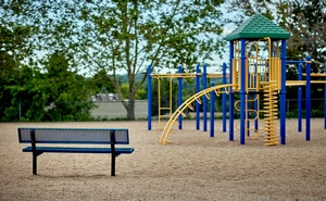 An empty playground in Aurora, Colo., on June 11, 2021. The New York Times