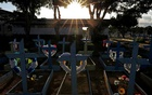 Graves of people who passed away due to the coronavirus disease (COVID-19) are pictured at the Parque Taruma cemetery in Manaus, Brazil May 20, 2021. REUTERS