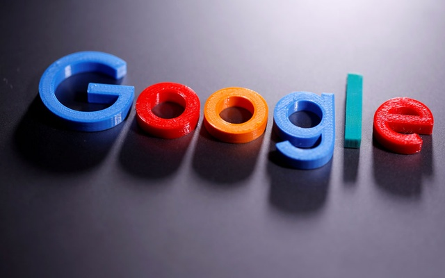 A 3D-printed Google logo is seen in this illustration taken April 12, 2020. REUTERS