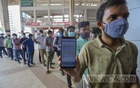 A passenger visits Kamalapur Railway Station for a refund on Wednesday, Jun 23, 2021 after buying tickets online as train services to and from Dhaka are suspended due to the coronavirus outbreak. Photo: Asif Mahmud Ove