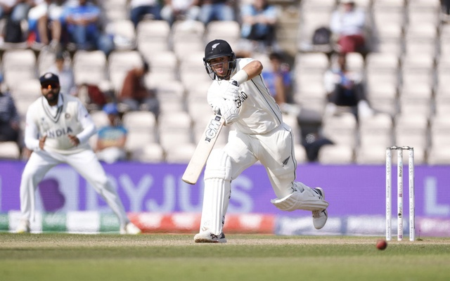 ICC World Test Championship Final - India v New Zealand - Rose Bowl, Southampton, Britain - June 23, 2021 New Zealand's Ross Taylor in action Action Images via Reuters/John Sibley