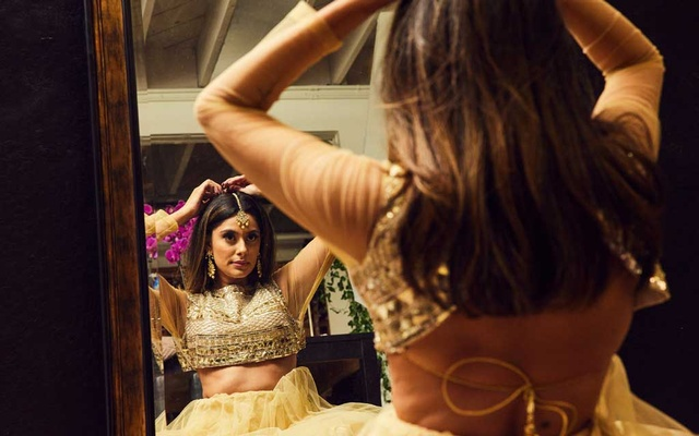 Manpreet Toor in Santa Clara, Calif, June 10, 2021. Toor, who has found success on YouTube and TikTok, reflects a new wave of Indian diaspora dance. (Ryan Young/The New York Times)