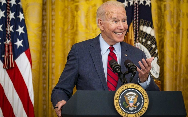 President Joe Biden discusses a proposed infrastructure bill, at the White House in Washington, Thursday, June 24, 2021. The New York Times