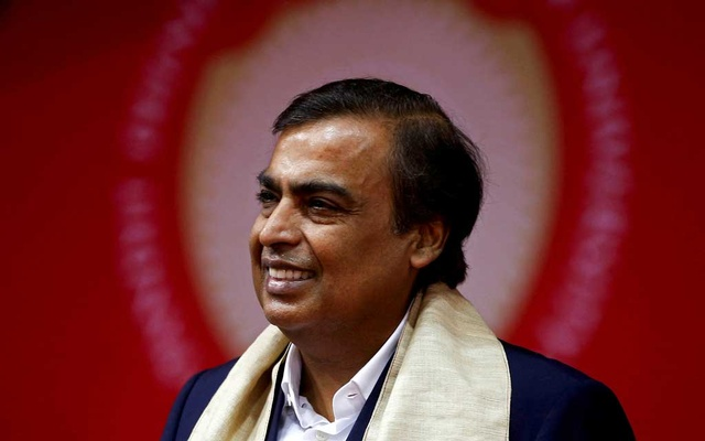 Mukesh Ambani, Chairman and Managing Director of Reliance Industries, attends a convocation at the Pandit Deendayal Petroleum University in Gandhinagar, India, September 23, 2017. REUTERS