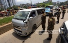 Army personnel control traffic in Dhaka's Mohammadpur on Thursday, Jul 8, 2021. Photo: Asif Mahmud