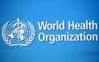 A logo is pictured at the World Health Organisation (WHO) building in Geneva, Switzerland, Feb 2, 2020. REUTERS/Denis Balibouse