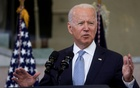 US President Joe Biden delivers remarks on actions to protect voting rights in a speech at National Constitution Centre in Philadelphia, Pennsylvania, US, July 13, 2021. REUTERS
