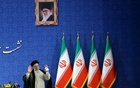 Iran's President-elect Ebrahim Raisi gestures at a news conference in Tehran, Iran June 21, 2021
