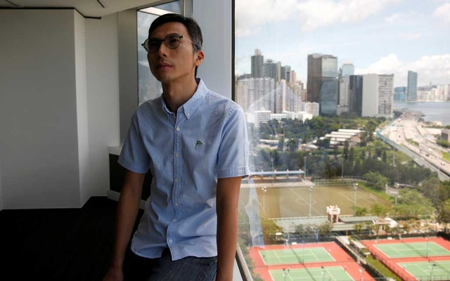 Hong Kong film director Kiwi Chow poses after an interview with Reuters, in Hong Kong, China June 19, 2020. Reuters