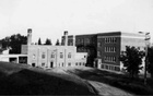 The Brandon Indian Residential School is seen in Brandon, Manitoba, Canada in 1947. Shingwauk Residential Schools Centre/Handout via REUTERS