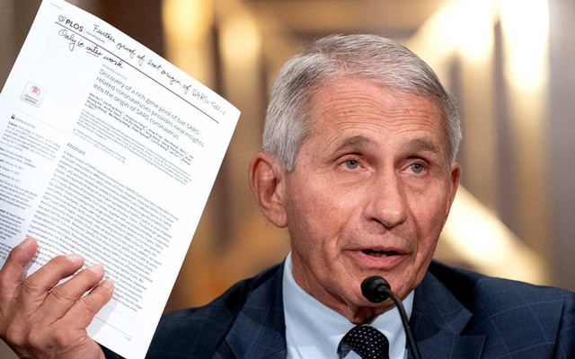Dr Anthony Fauci, director of the National Institute of Allergy and Infectious Diseases, speaks during a Senate Health, Education, Labor, and Pensions Committee hearing at the Dirksen Senate Office Building in Washington, DC, US, July 20, 2021. Stefani Reynolds/Pool via REUTERS