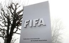 FIFA's logo is seen in front of its headquarters during a foggy autumn day in Zurich, Switzerland November 18, 2020. Reuters
