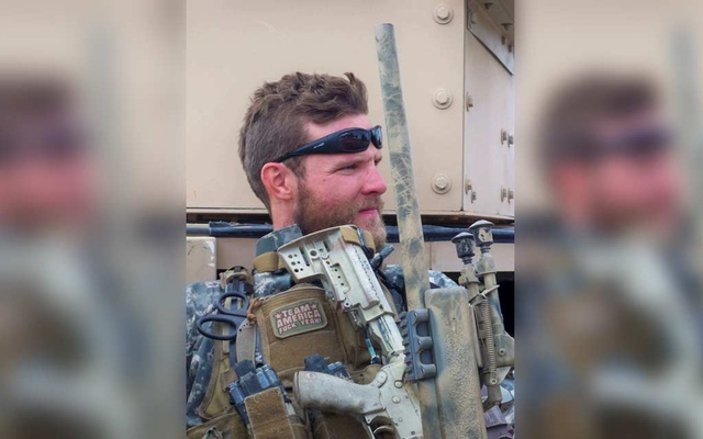 A US special forces veteran Jason Lilley is shown during his deployment in Farah, Afghanistan in 2009. Jason Lilley/Handout via REUTERS