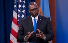 US Defense Secretary Lloyd Austin answers reporters questions at the Pentagon as the US military nears the formal end of its mission in Afghanistan in Arlington, Virginia, US July 21, 2021. REUTERS/Ken Cedeno
